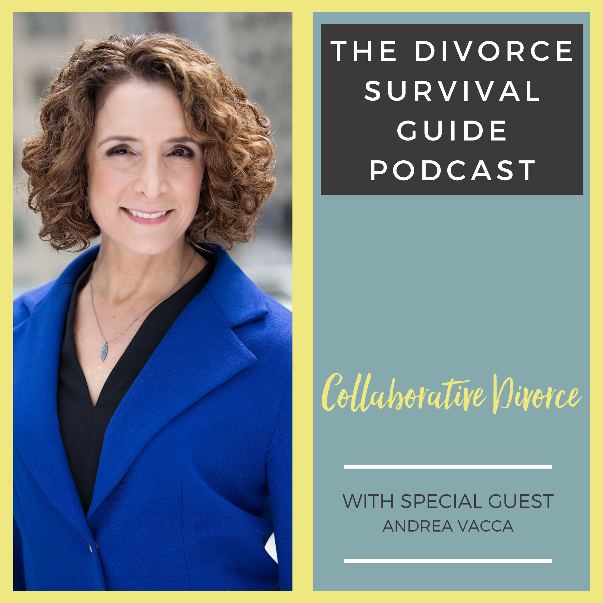 The Divorce Survival Guide Podcast - Collaborative Divorce with Andrea Vacca