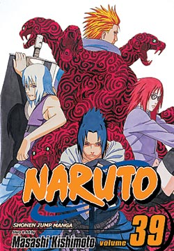 Manga Review: Naruto Volume 39
