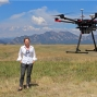 Artwork for Drones and Civil Engineering with Pioneer Mary Wohnrade
