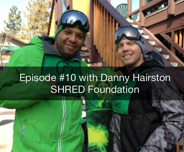 Danny Hairston SHRED Foundation | Reimagining Education | Visualization | Youth Snowboarding Culture
