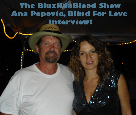 The BluzNdaBlood Show #79, Blind For Love Interview