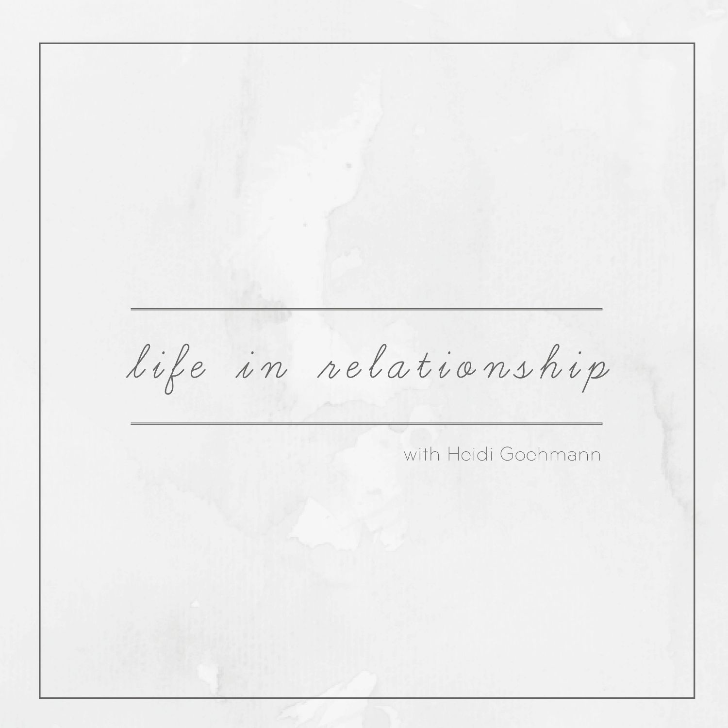 Life in Relationship show art