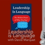 Artwork for Leadership is Language with David Marquet