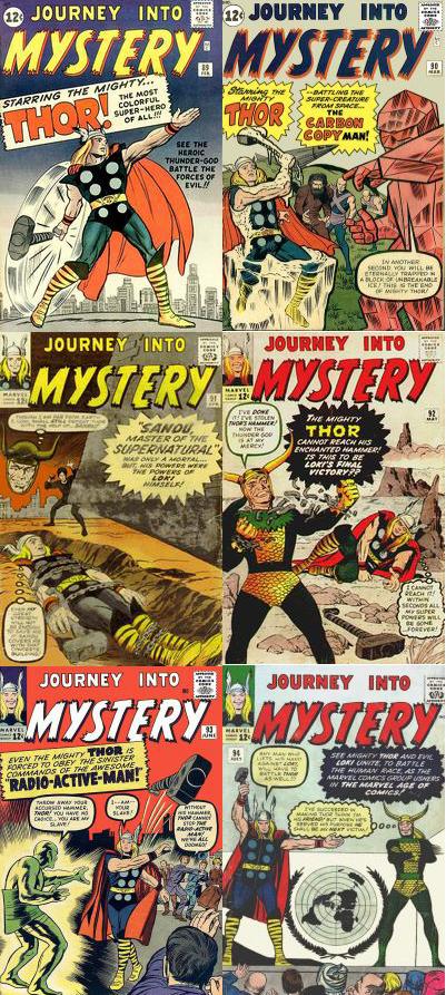 Komicskast - #92 - THOR -  Journey Into Mystery 89 - 94