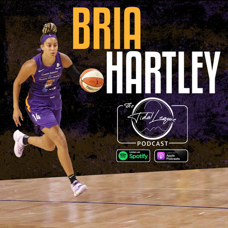 Bria Hartley talks playing for NCAA Powerhouse UConn, 2021 WNBA Season & the Tokyo Olympics