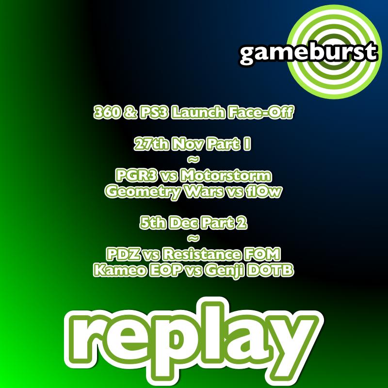 GameBurst Replay - 7th Gen Launch Titles pt1