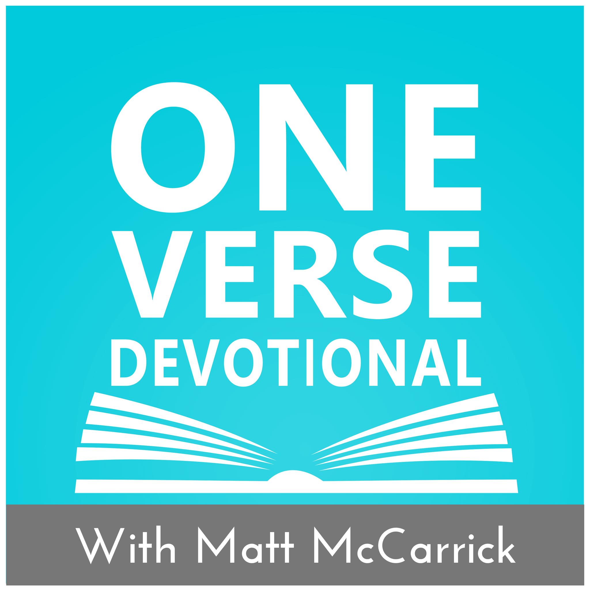 One Verse Devotional show art