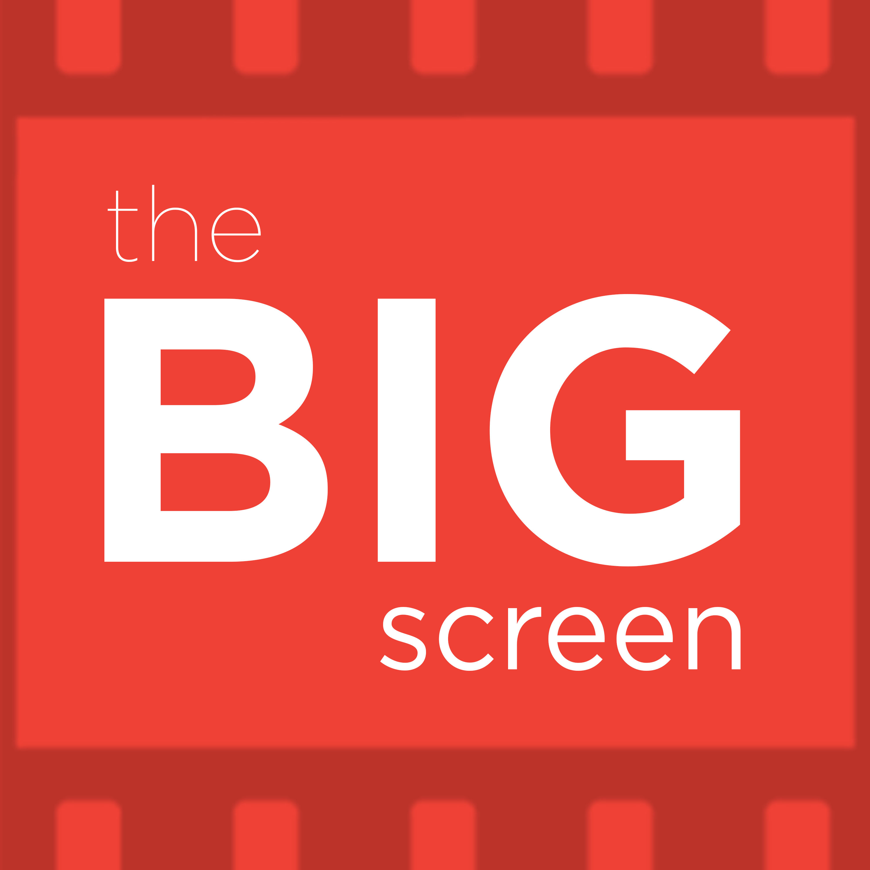 Artwork for The Big Screen: The Media In The Movies