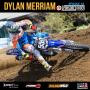 Artwork for #45 - Dylan Merriam on Supercross, brand identifiers, small businesses, and social media.