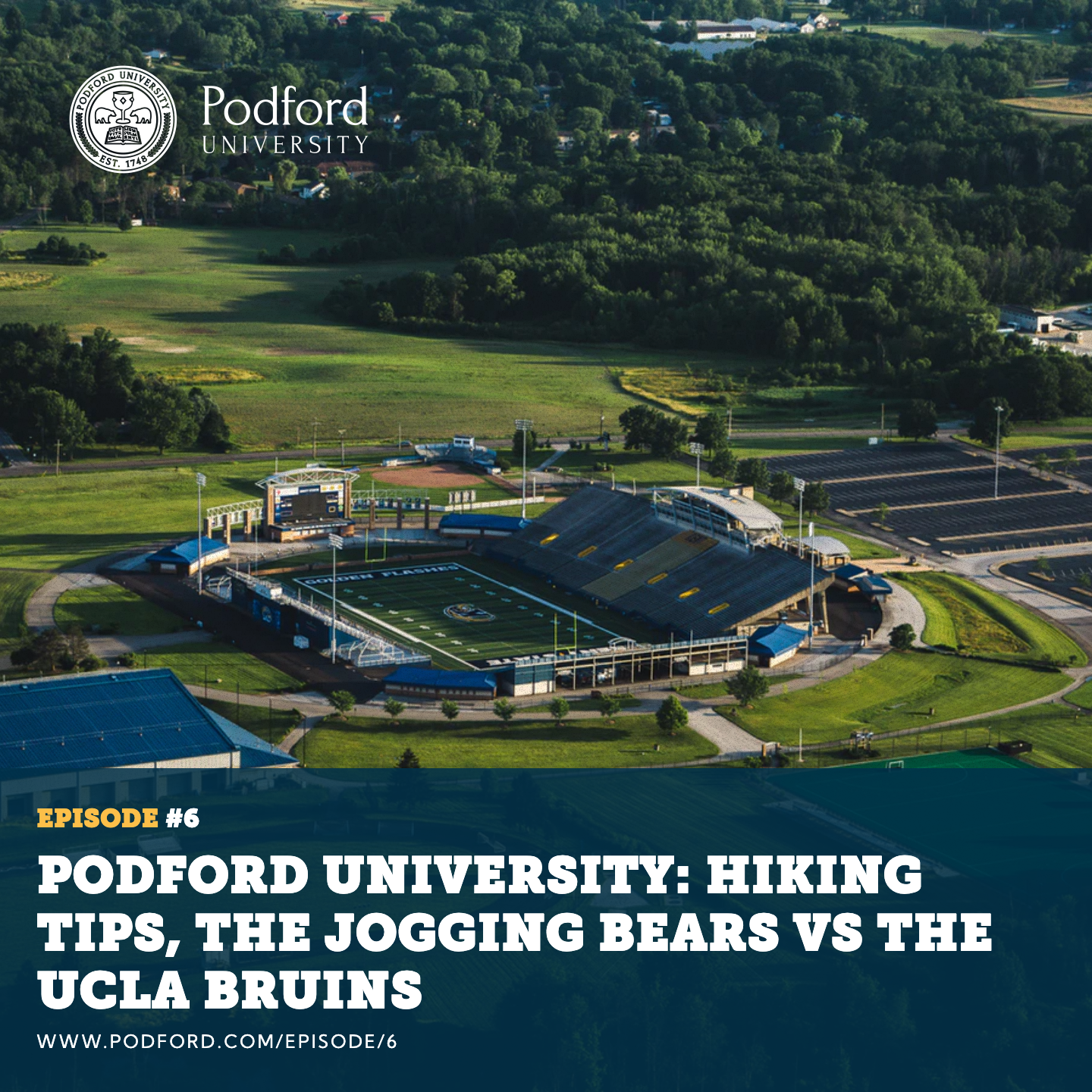 Podford University: Hiking Tips, The Jogging Bears VS The UCLA Bruins