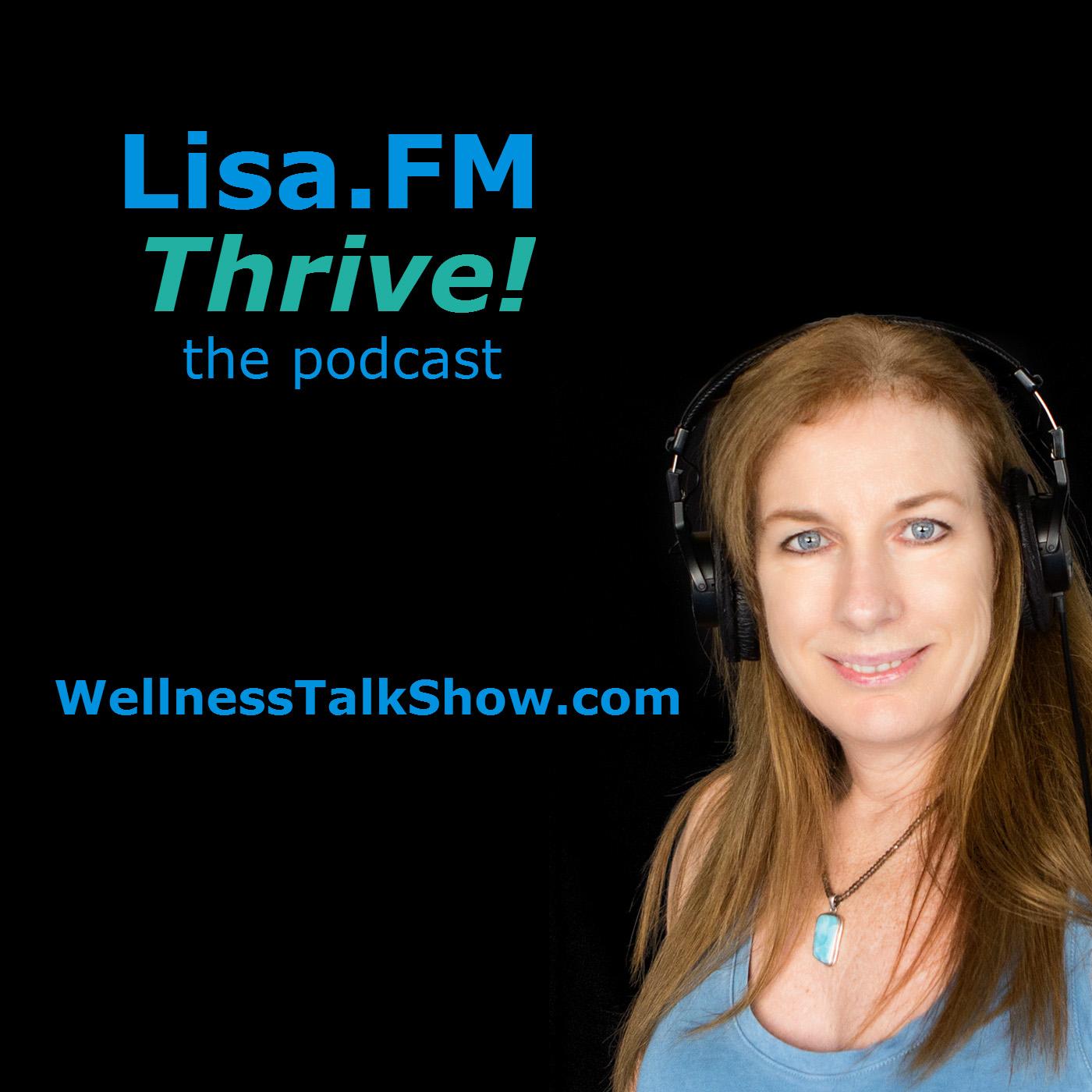 Lisa.FM Thrive! logo