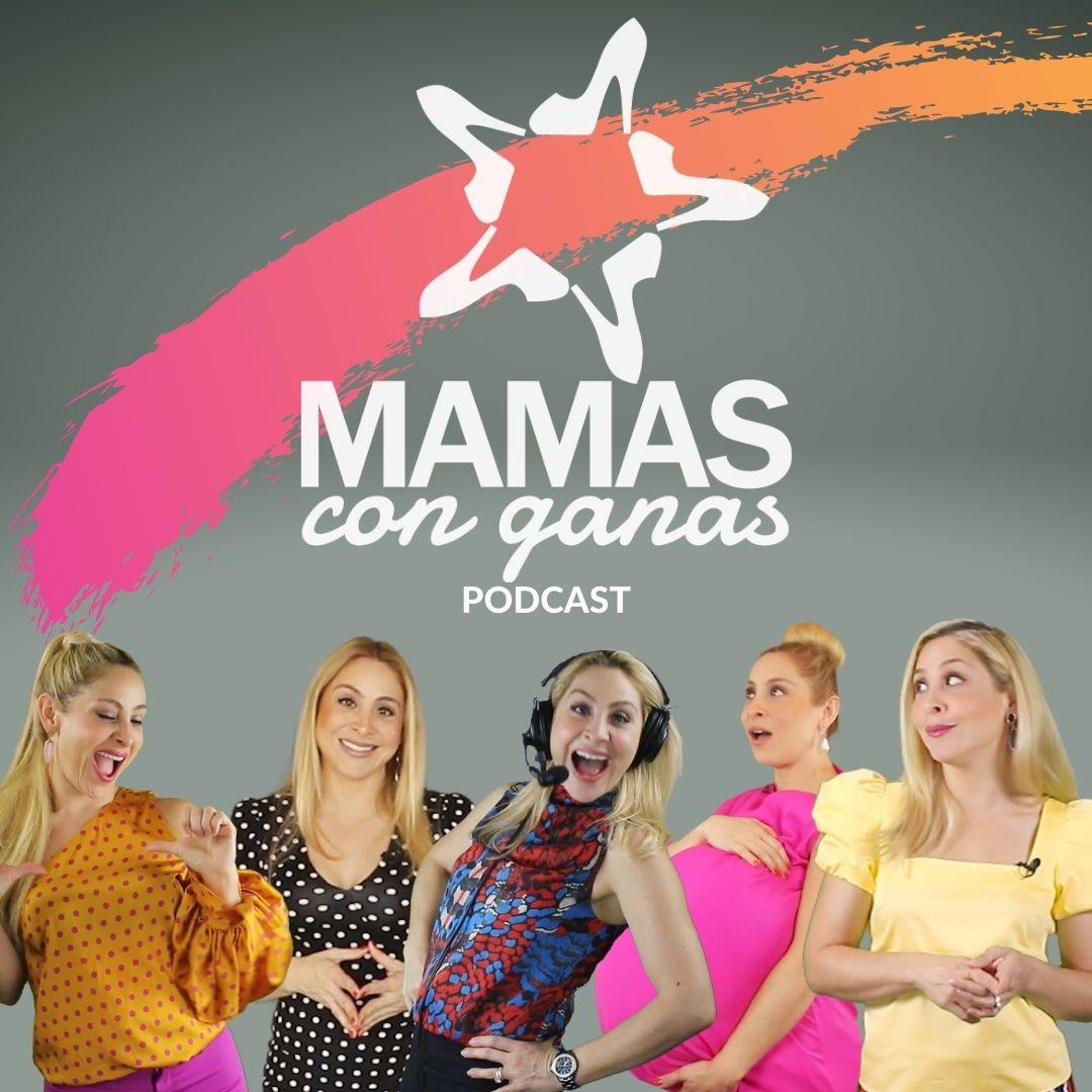 Mamas Con Ganas Podcast with Valentina Izarra show art