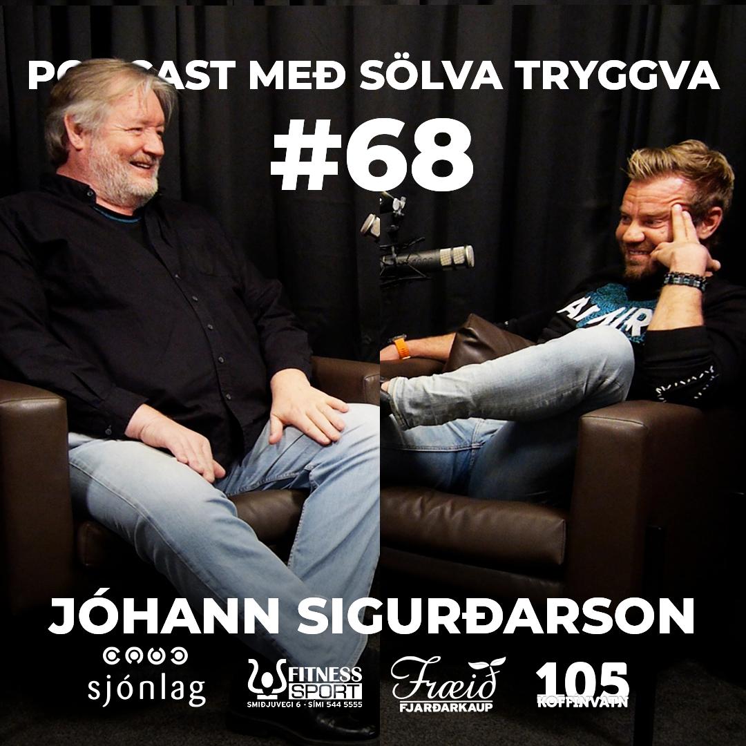 #68 Jóhann Sigurðarson með Sölva Tryggva