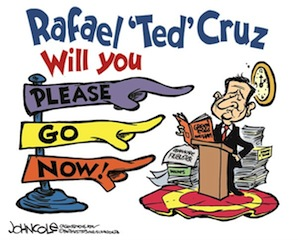 Hal Sparks Radio Pgm -- Ted Cruz Faux Filibuster Fundraising, 9/28/13