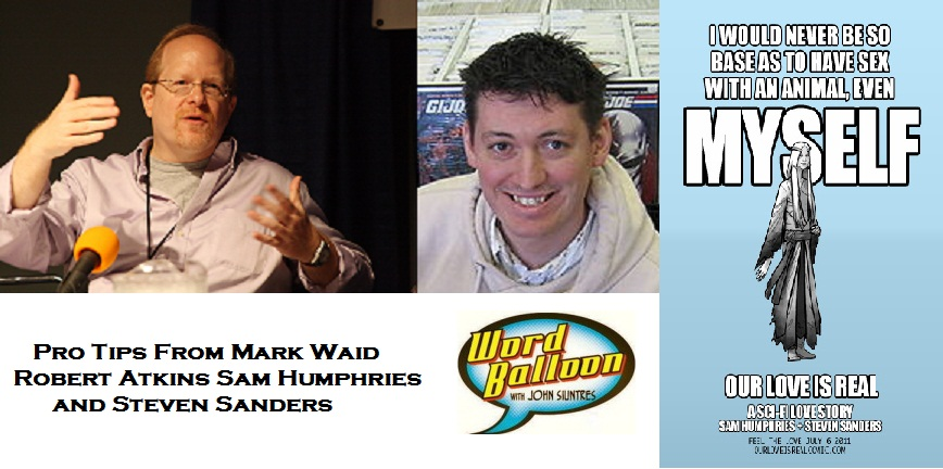 ep 367 Pro Tips From Mark Waid Robert Atkins Sam Humpries and Steve Sanders