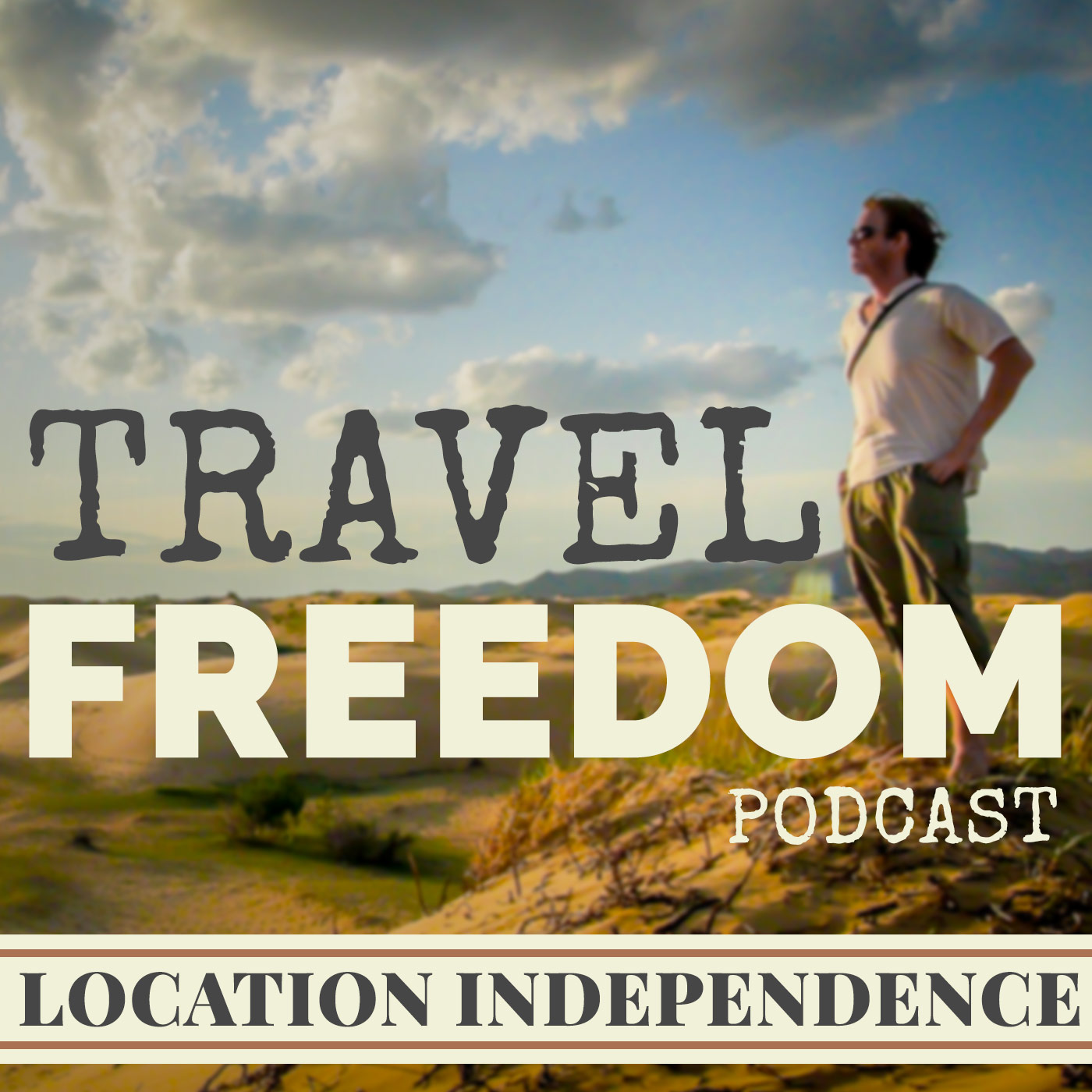 Travel Freedom Podcast show art