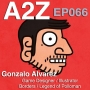 Artwork for Ep066: Gonzalo Alvarez - Designer of 'Borders' video game and 'The Legend of Po