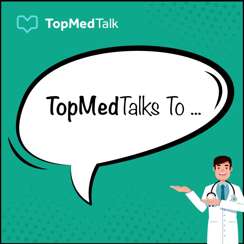Artwork for TopMedTalks to ... | Amir Jaffer