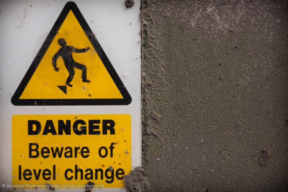 Beware the level change.