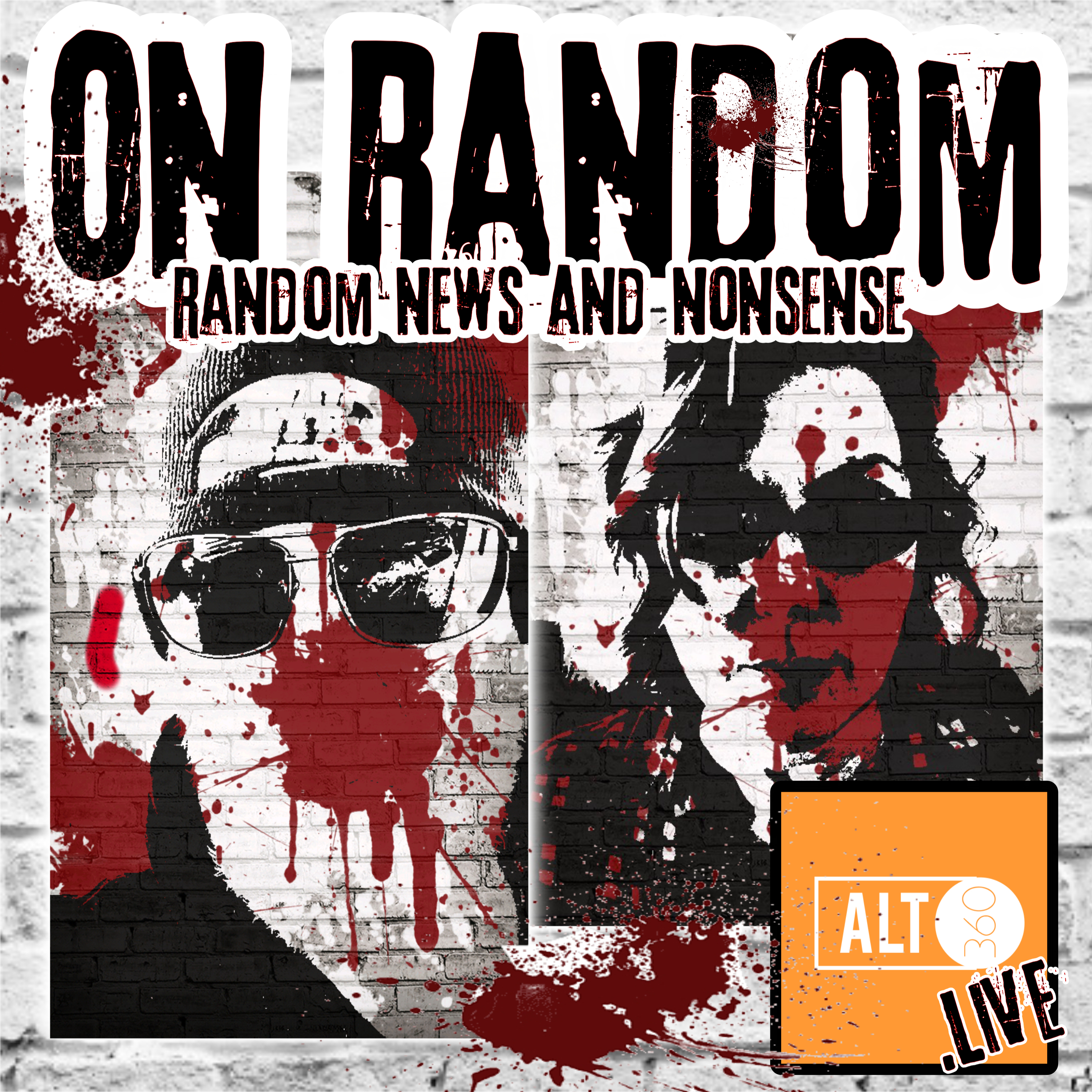 On Random with Eric and Stacey show art