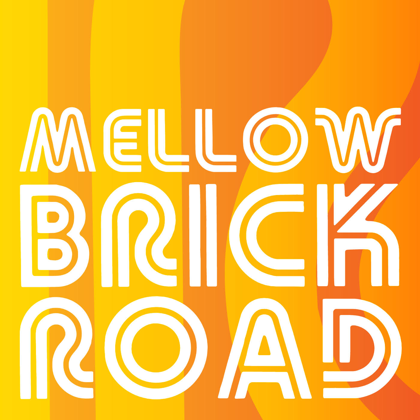 Mellow Brick Road show art