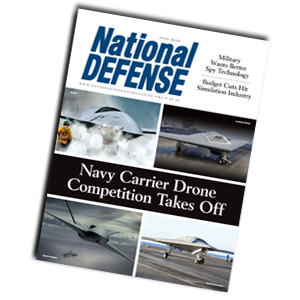 Artwork for Industry's Fierce Competition to Build the Navy's Carrier-Based Drone - July 2013
