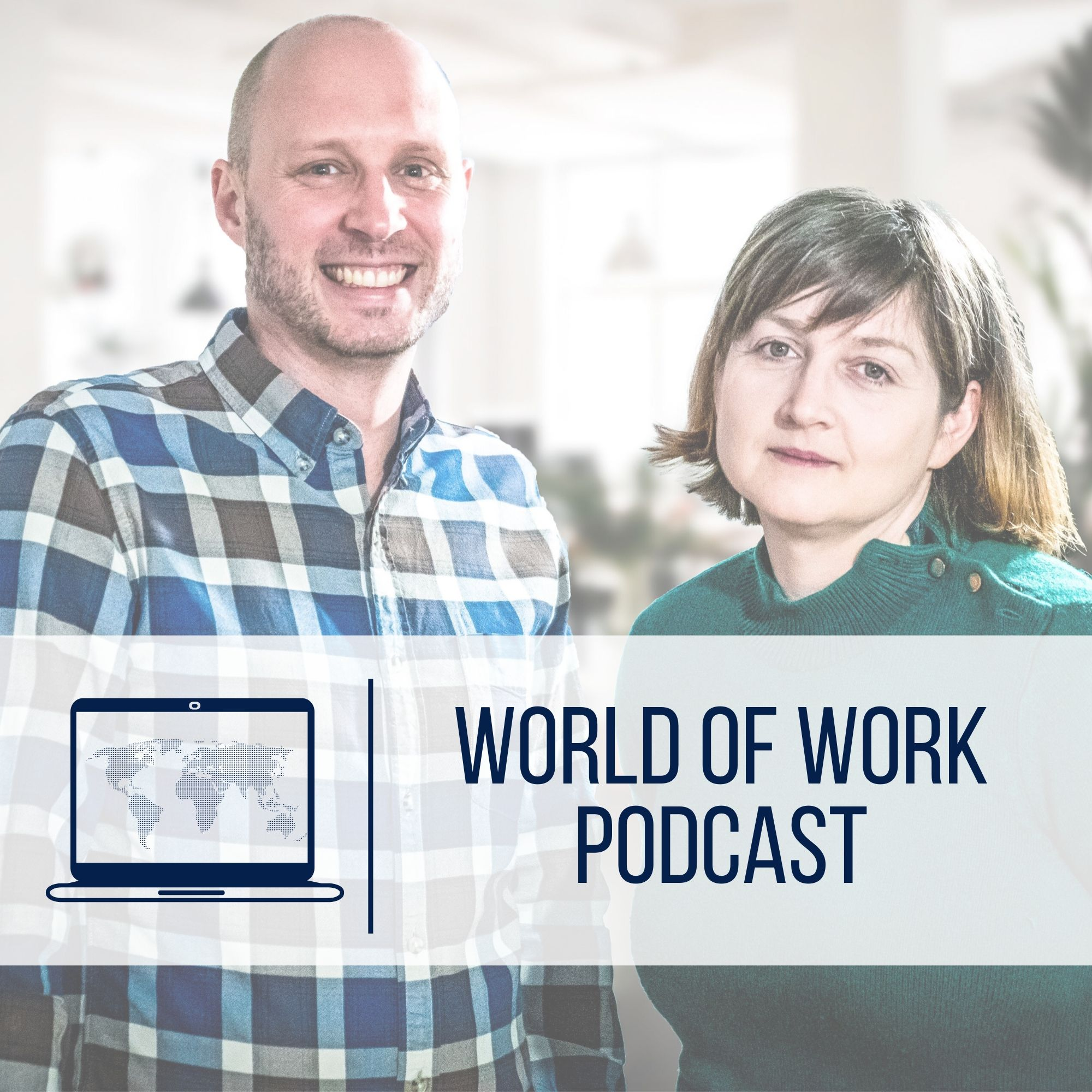 The World of Work Podcast show art