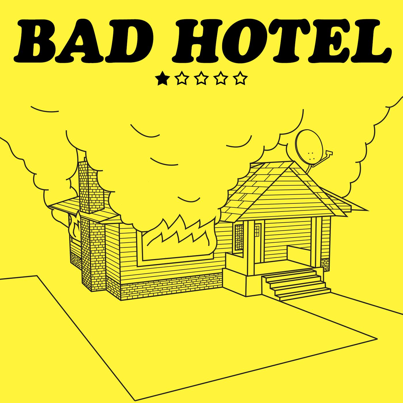 Bad Hotel show art