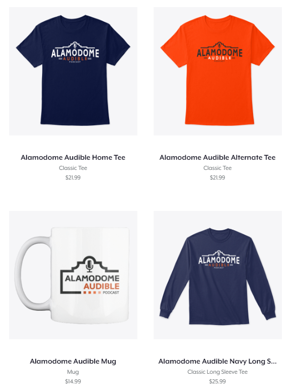 Alamodome Audible Merchandise