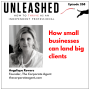Artwork for 268. Angelique Rewers on how small businesses can land big clients