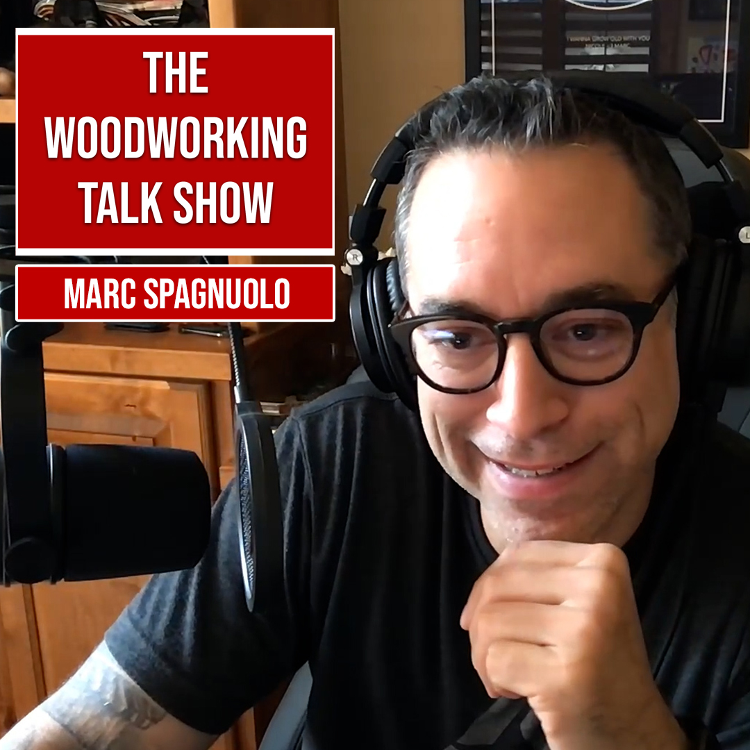 Marc Spagnuolo on YouTube Shorts and building fine furniture. The Wood Whisperer. (Ep 10) show art
