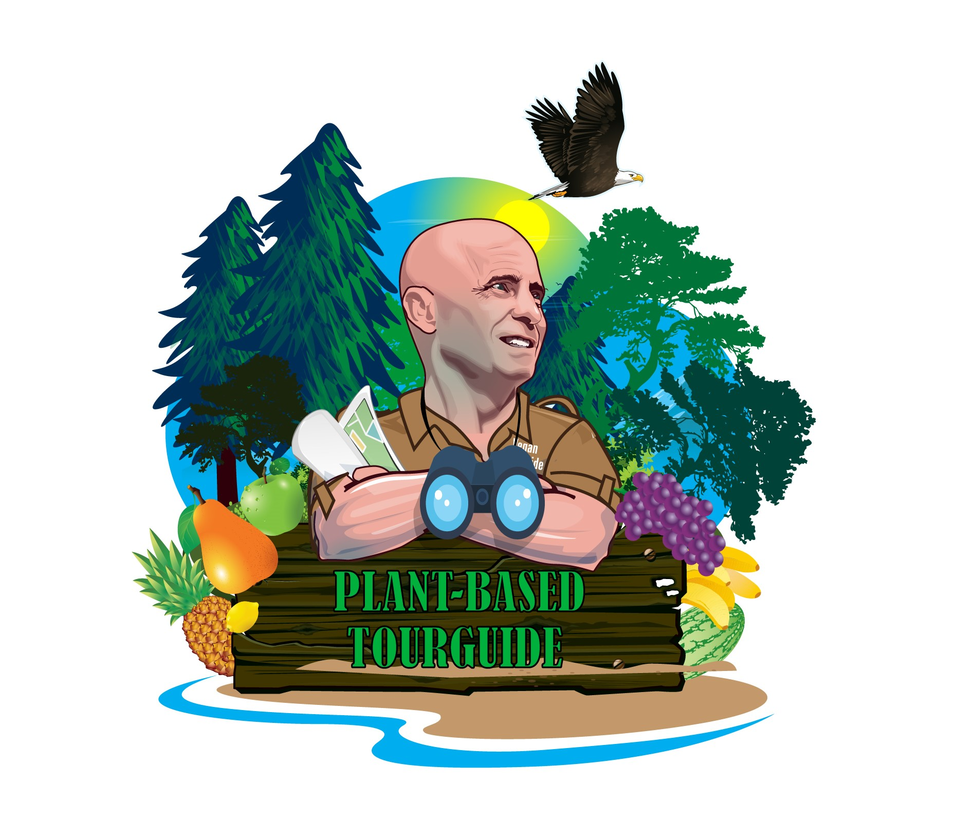 Plantbased TourGuide show art