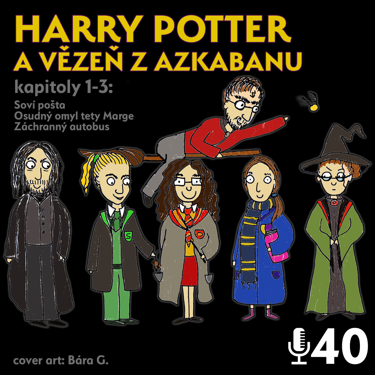 Epizoda 40 - Harry Potter 3.1
