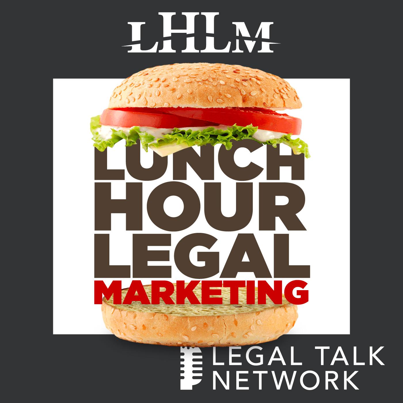 Lunch Hour Legal Marketing show art