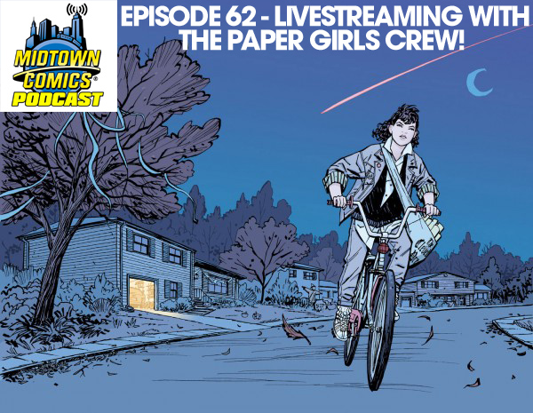 Episode 062 The Golden Girls aka Brian K. Vaughan, Cliff Chiang, Matt Wilson and Jared Fletcher