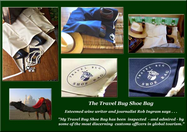 The Travel Bug Shoe Bag