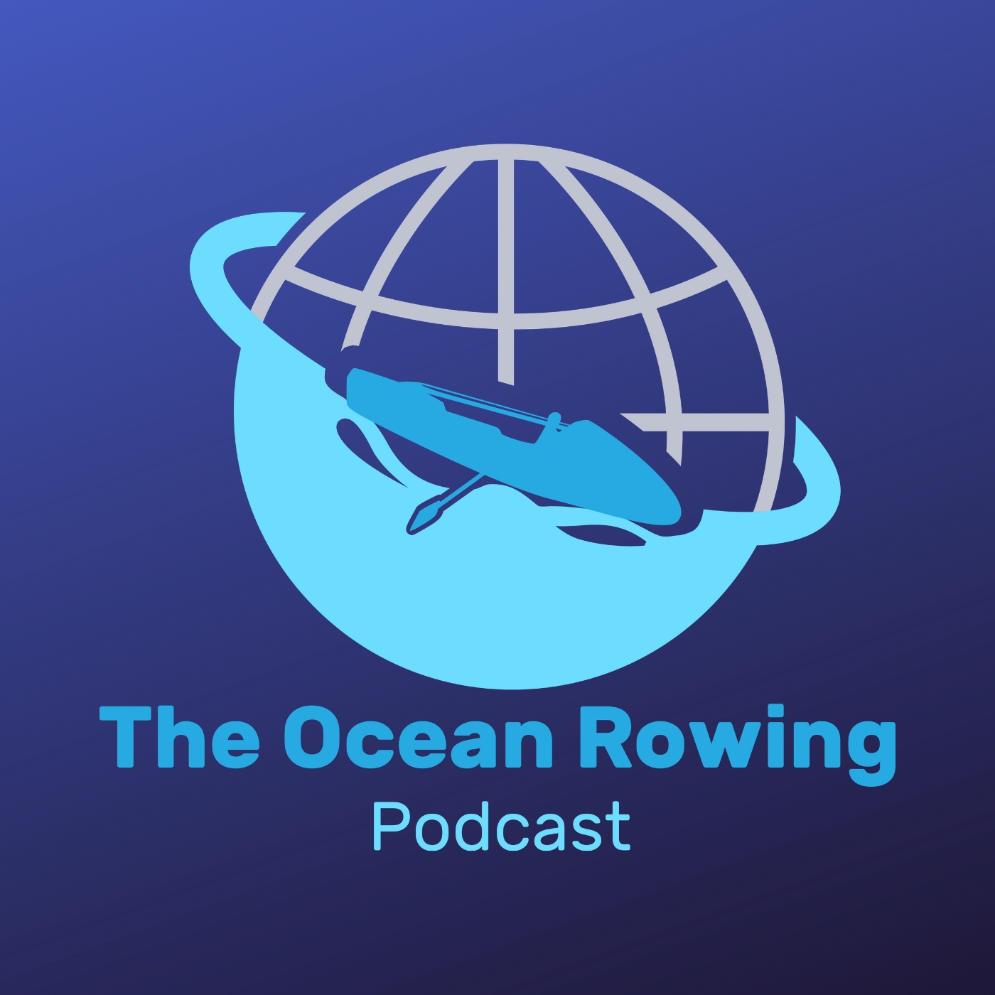The Ocean Rowing Podcast show art