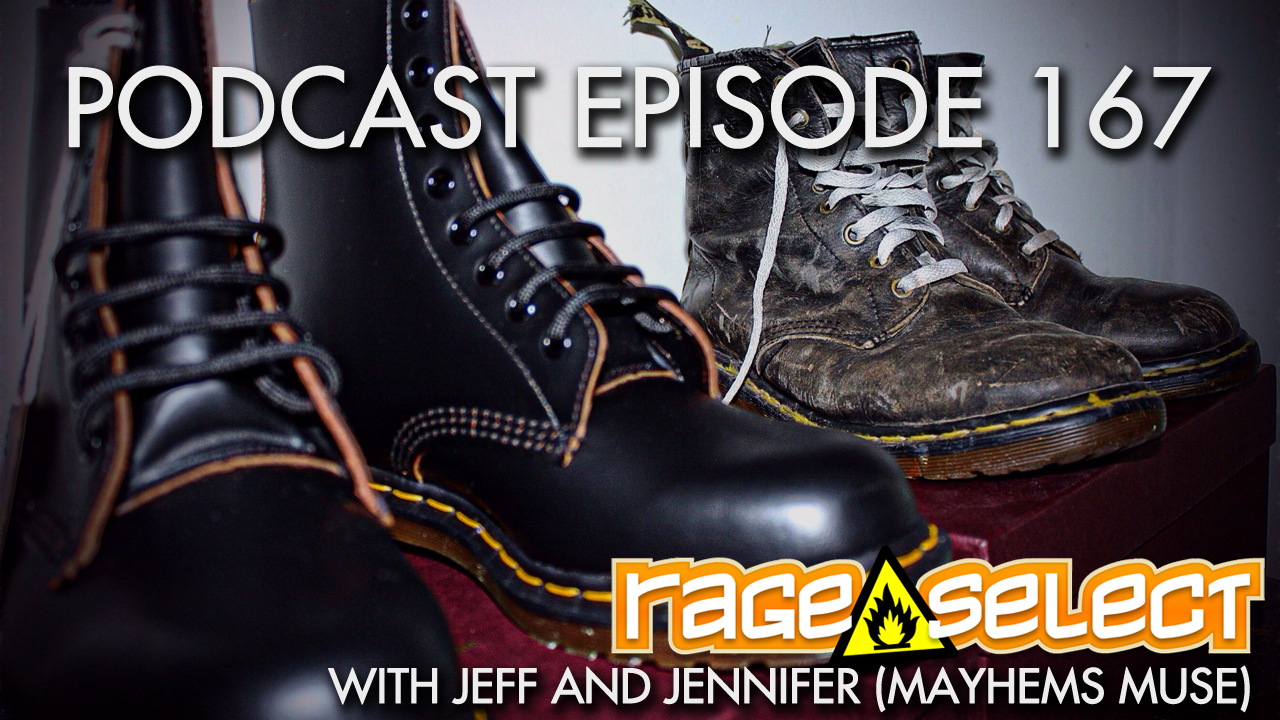 Rage Select Podcast Episode 167 - Jennifer and Jeff Answer Your Questions!