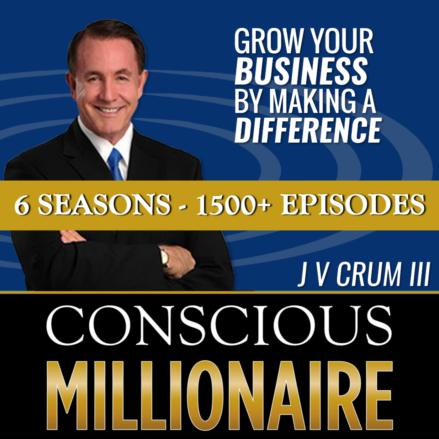 Conscious Millionaire Show ~ Business Coaching and Mentoring 6 Days a Week show art