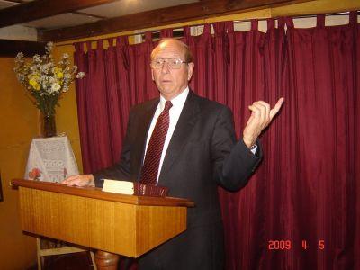 343  Visita  Pastor Roger Laird desde USA.