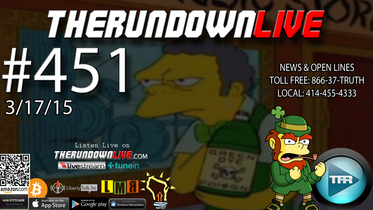 The Rundown Live #451 Open Lines (Geoengineering,Kids OS,Fake White House)