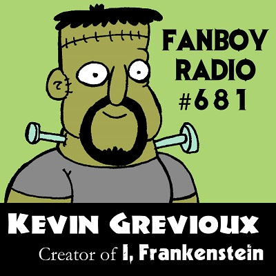 Fanboy Radio #681 – Kevin Grevioux… LIVE… Again!