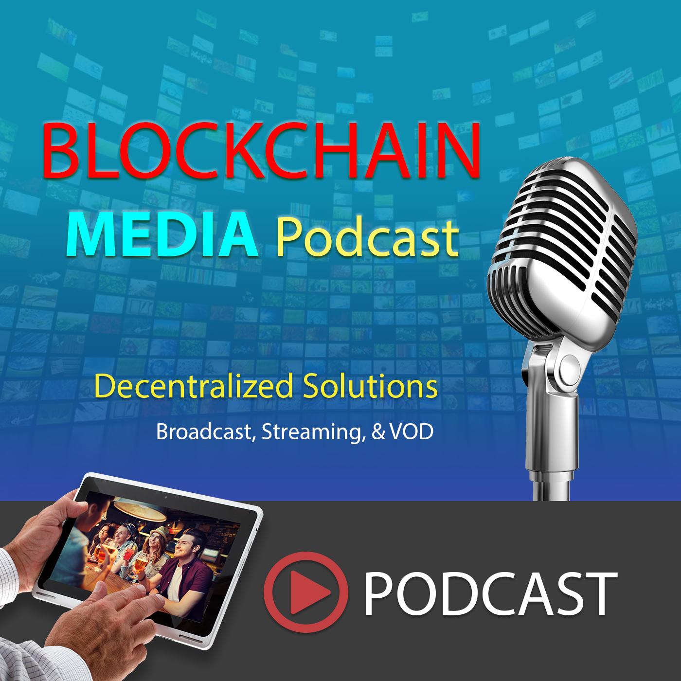 Blockchain Media Podcast show art