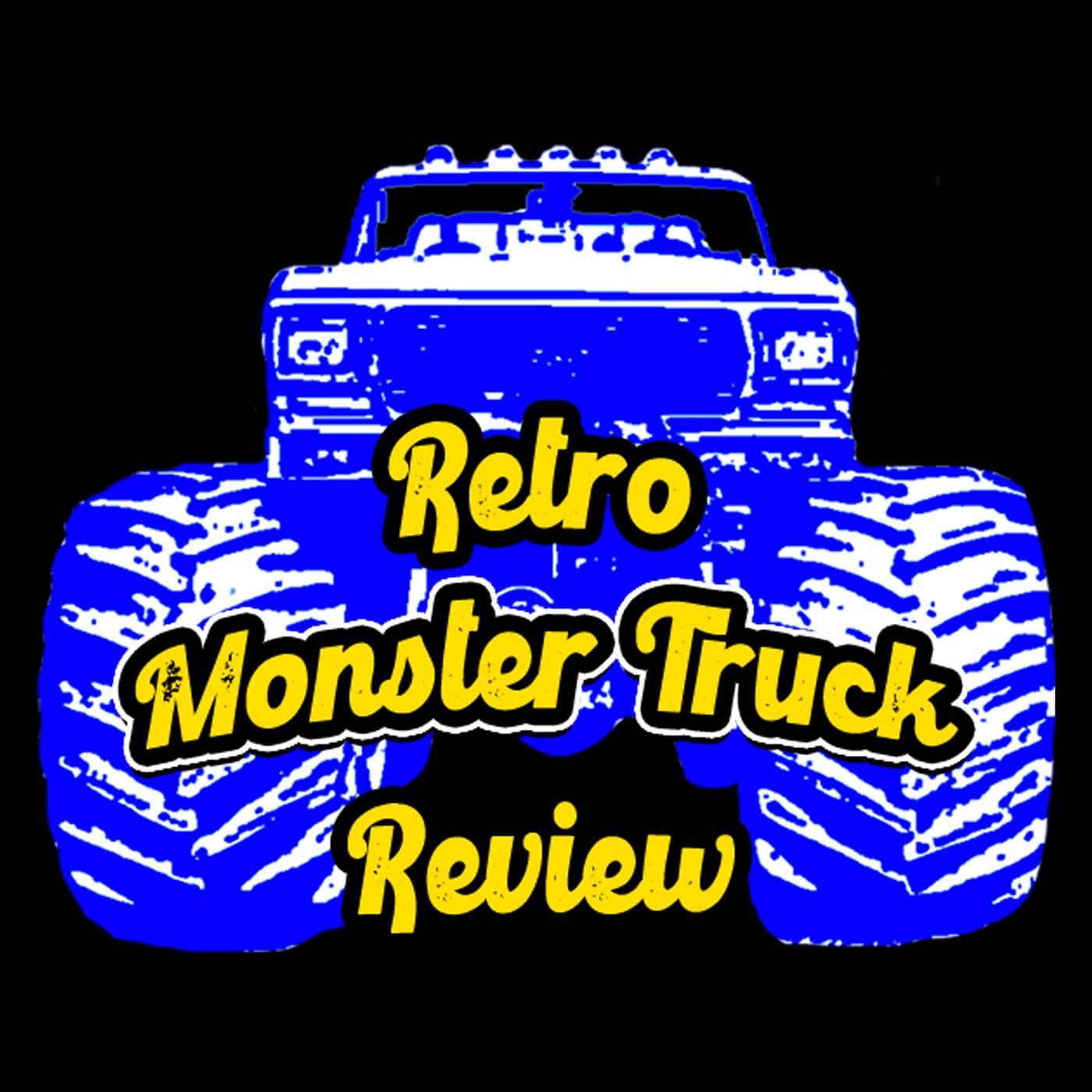 Retro Monster Truck Review show art