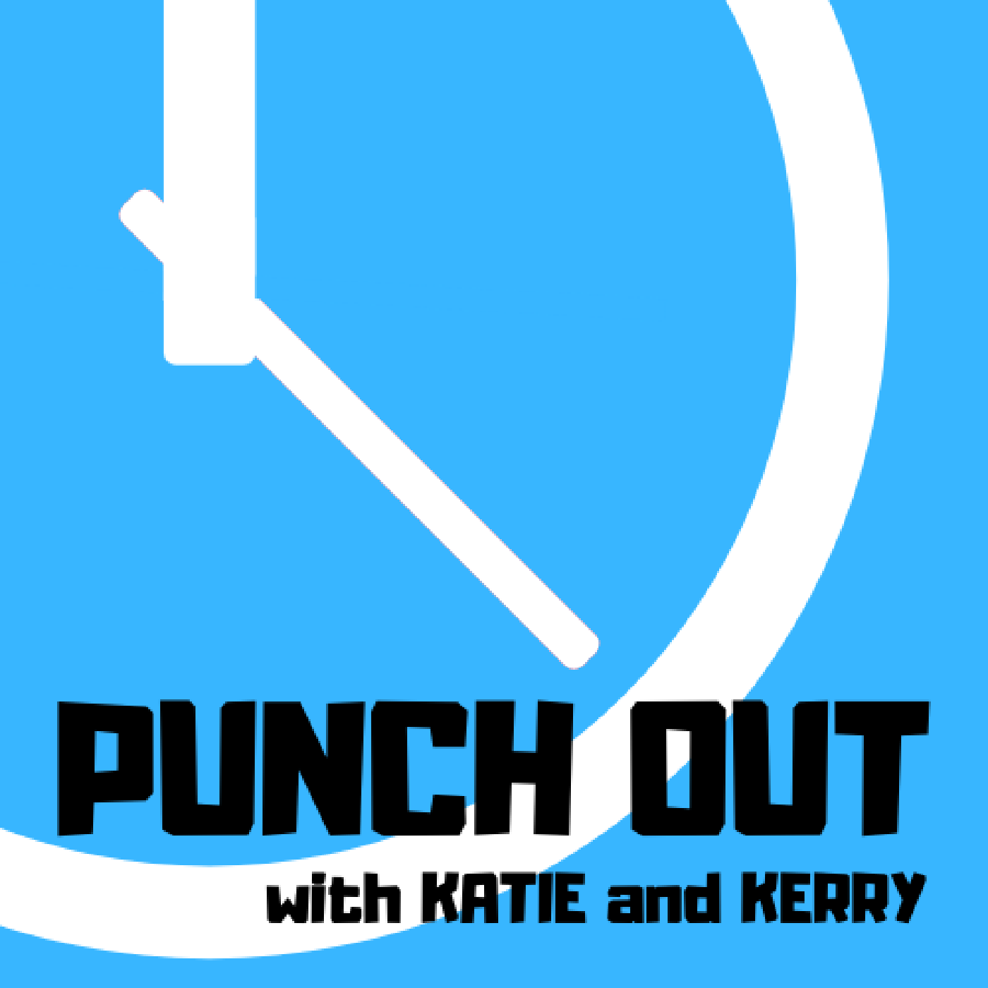 Punch Out With Katie and Kerry show art