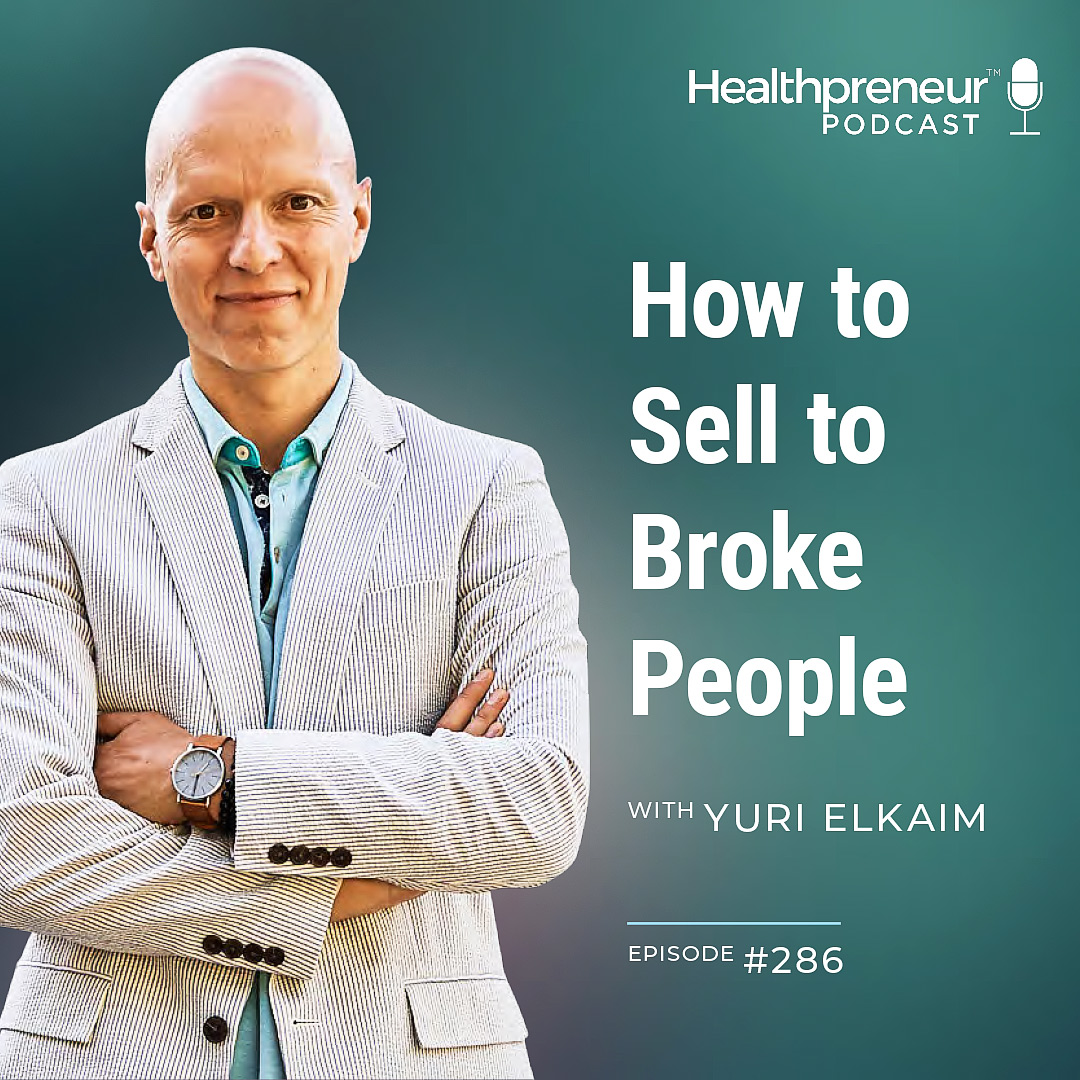 286 - How to Sell to Broke People show art