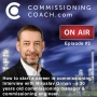 Artwork for #3 - How to start a career in commissioning?