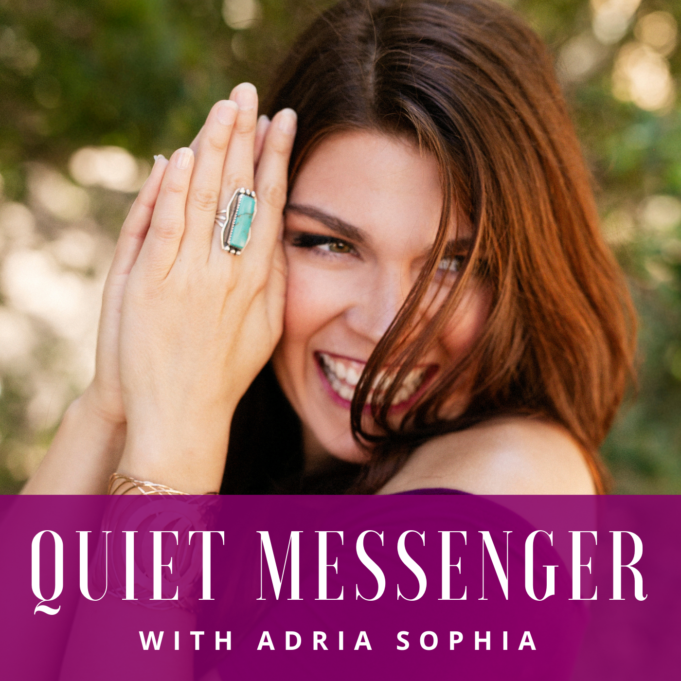 Quiet Messenger: Leadership through Brand Messaging for Sensitive, Introverted Coaches + Online Business Owners show art