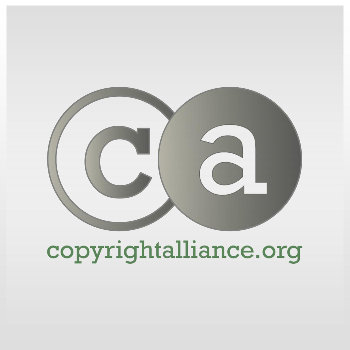 Copyright Alliance's Podcast logo
