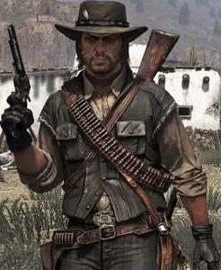 Video Game Legends #4 Red Dead Redemption
